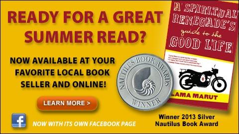 Spiritual Renegade-Lama Marut's New Book