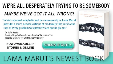 "Lama Marut's New book ""Be Nobody"" is now available for Pre-Order"